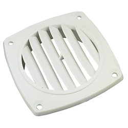 POLYPROPYLENE VENT-WHITE 3IN