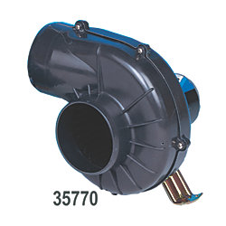 12V 250CFM 4IN HD FLANGE MT BLOWER