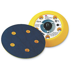 "Stikit 6"" Medium Dust Free Disc Pad"