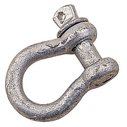 GALV. ANCHOR SHACKLE 3/16IN NONRATED