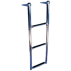 3 SS STEP TELESCOPING DROP LADDER