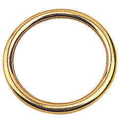 BRONZE ROUND RING 5/32IN X 1IN