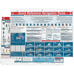 NAVIGATION RULES REFERENCE CARD