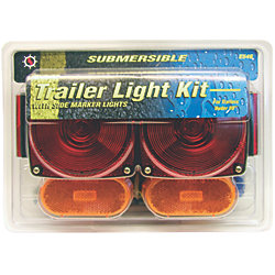 REAR LIGHT KIT SUBMERSIBLE W/HARNES