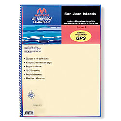 WATERPROOF CHART BOOK SAN JUANS