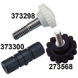 1/4-20 WHITE NYLON HEAD SCREW *PR*