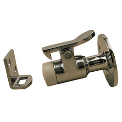 STAINLESS DOOR STOP & CATCH  2-1/2IN