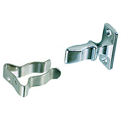 CHR ZINC & SS DOOR HOLDER
