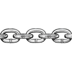 3/8IN HIGH TEST GALVANIZED CHAIN