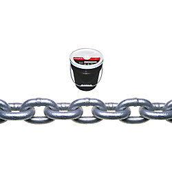 250FT PAIL 3/16IN GALV. PROOF CHAIN