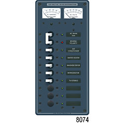 120V A SERIES PANEL 5 POS VOLT/AMMETER