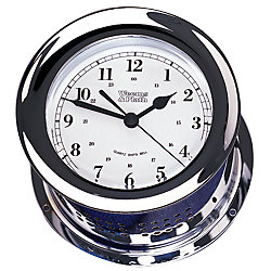 CLOCK QUARTZ SHIPS CHROME ATLANTIS