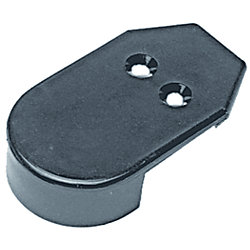 BLACK NYLON RUB RAIL END CAP *PR*
