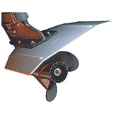 Hydrofoils for Stern Drives & Outboards