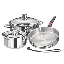 7 Piece Nesting Cookware Set