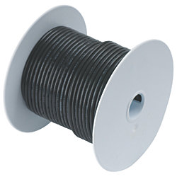 12 BLK TINNED COPPER WIRE (400FT)
