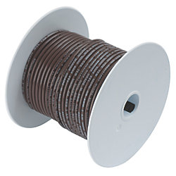 14 BRN TINNED COPPER WIRE (100FT)