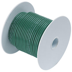 12 GRN TINNED COPPER WIRE (250FT)