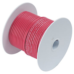 2 RED TINNED BATTERY CABLE (100FT)