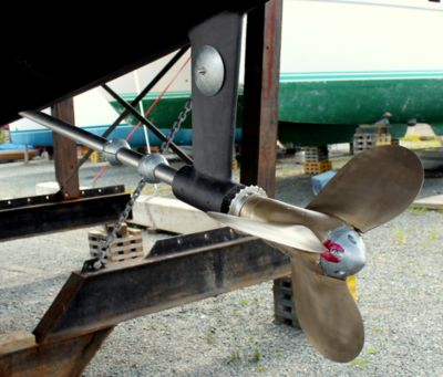 A Boat with New Anodes