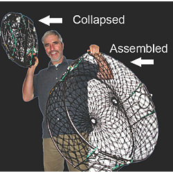 Discontinued: Collapsible Fishing Traps