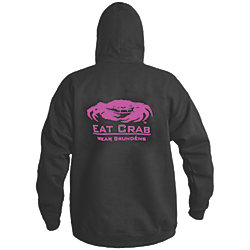 Eat Crab Hooded Sweatshirt