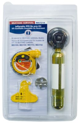 Rearm Kit for HIT Inflatable PFD from Mustang
