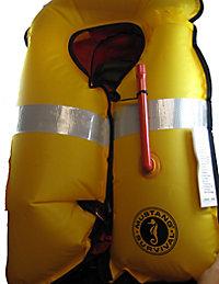 Inflated Life Jacket