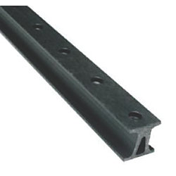 1-1/8IN X 4FT TRAVELER TRACK BLACK