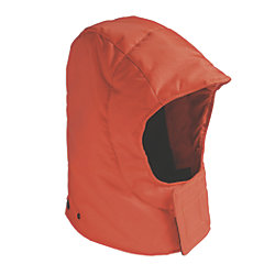 ORANGE INSULATED HOOD F/077
